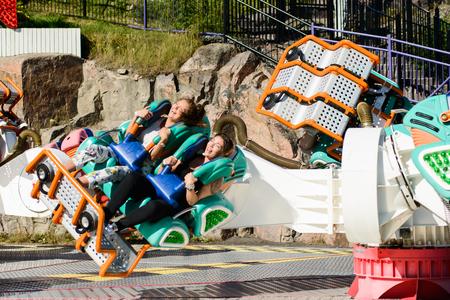 Linnanmaki Amusement Park, Kieppi Booster ride Publikacyjne