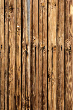 Brown wood texture background. Wooden panel with patterns Stock Photo
