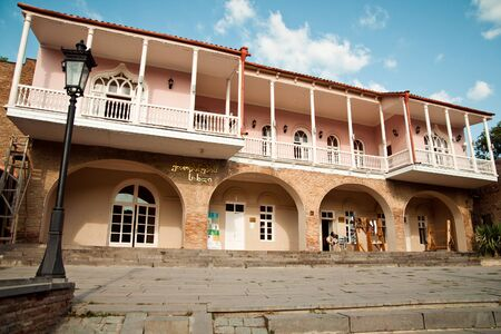 Wedding palace in City of Love Signagi Sighnaghi , Georgia
