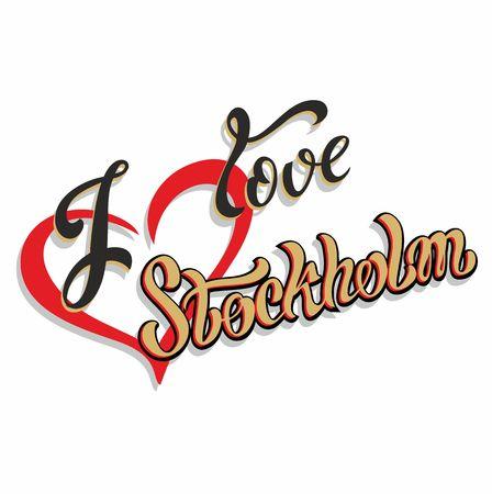 I love Stockholm Lettering.