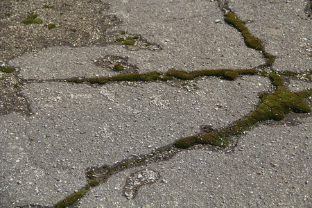 old asphalt Stock Photo