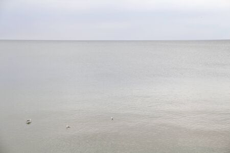 the Baltic sea at the end of summer
