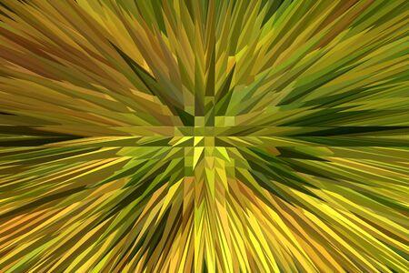 creative yellow abstraction Stock Photo