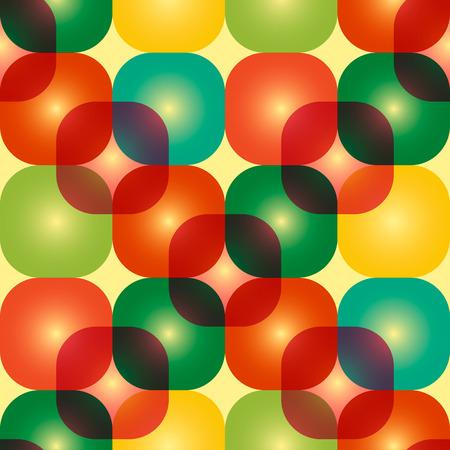 colorful circles abstract texture, background Ilustração