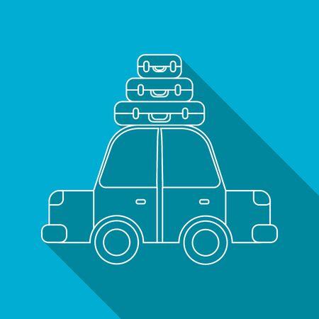 excursions: car icon illustration