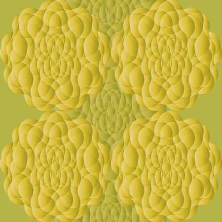 Mandala background. Vintage decorative elements. Ilustração