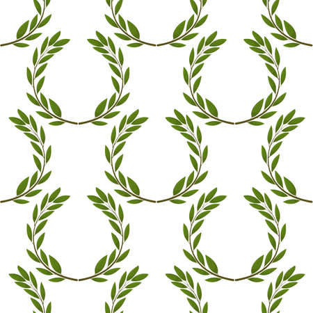 Seamless background with olive leaves. Ideal for printing on fabric or paper.