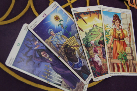Tarot cards, divination, magic
