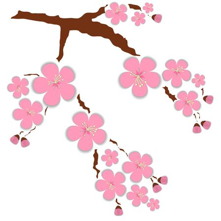Illustration card with doodle 