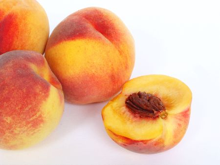 Fresh peachy Stock Photo