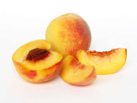 Delicious peachy Stock Photo