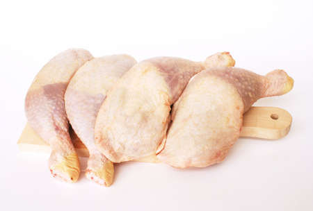 chicken drumstick Stock Photo