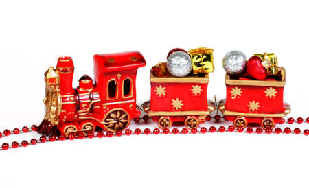 Christmas decoration - red train