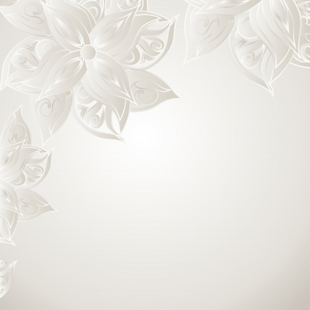 bue: Silver bue background with floral ornament and space for your text  Template frame design for card