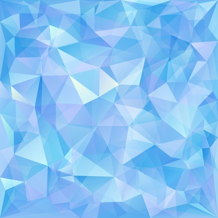 crystal: Geometric pattern, triangles background