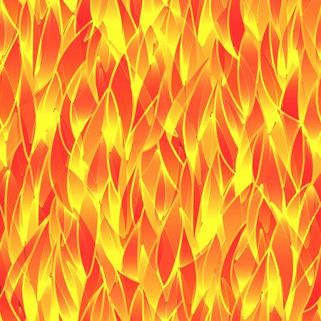 Abstract fiery background  Seamless pattern