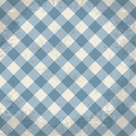 Grunge checkered background. Eps 10 vector illustration Vector