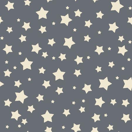 estrella caricatura: Patr�n de estrellas sin fisuras. Vectores
