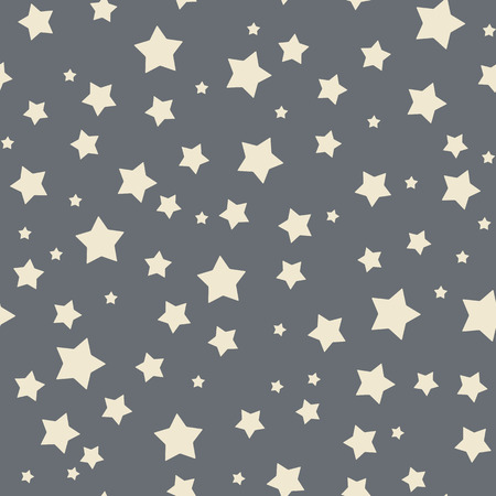 Seamless stars pattern.