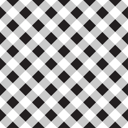 Seamless checkered background.     Vector