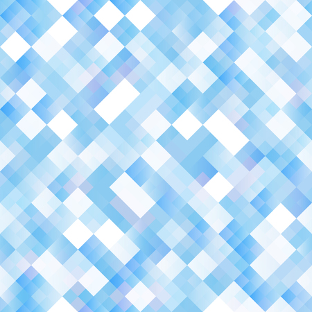 paillette: Seamless background with shiny blue squares. Eps 10 vector illustration