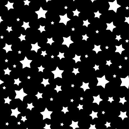 Naadloos sterren patroon. Eps 8 vector illustratie