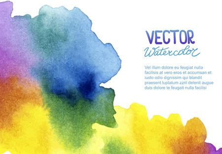 grunge background: Abstract watercolor background for your design.  Illustration