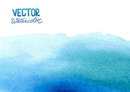 あなたのデザインの抽象的な水彩画の背景。Eps 8 ベクトル。