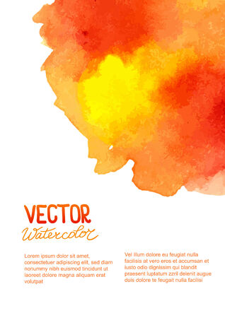 ombre: Abstract watercolor background for your design.  Illustration