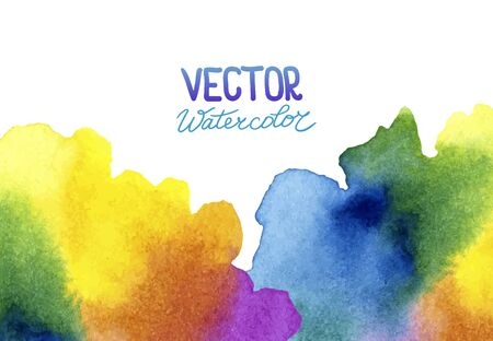transition: Abstract watercolor background for your design. Eps 8 vector.