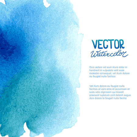 Abstract watercolor background for your design. Eps 8 vector.