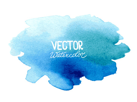 splatter: Abstract watercolor background for your design.  Illustration