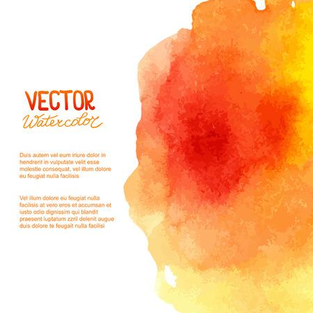 Abstract watercolor background for your design.  Illusztráció