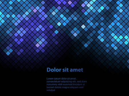 neon party: Shiny background with sequins. Template for your design. Can be used for business cards, presentations, banners