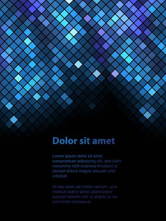 paillette: Shiny background with sequins. Template for your design. Can be used for business cards, presentations, banners