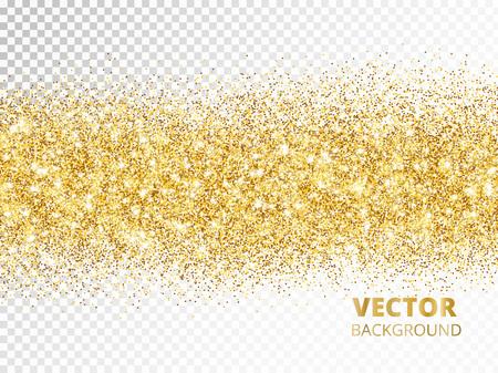 Sprankelend schitter grens geïsoleerd op transparante achtergrond, vec Vector Illustratie