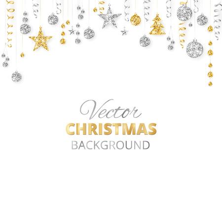 Merry Christmas greeting card template. 일러스트