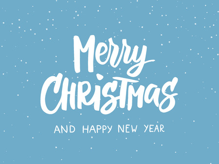 Merry christmas snow photography quotes pictures picturesboss photo merry christmas text holiday greetings quote blue flat background with falling snow effect jpg 450x338 m4hsunfo