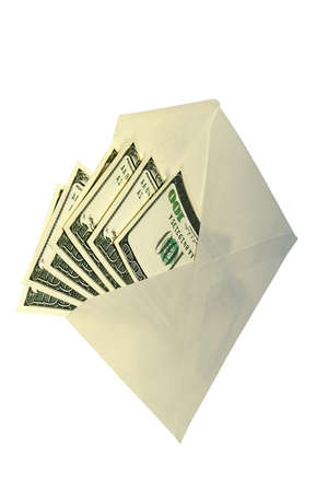 subornation: Dollars in an envelope-concept of a bribe and illegal compensation