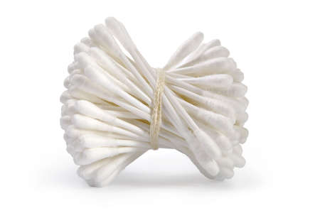 hygienics: Hygiene cotton swabs-cleanliness and care of a body  Stock Photo