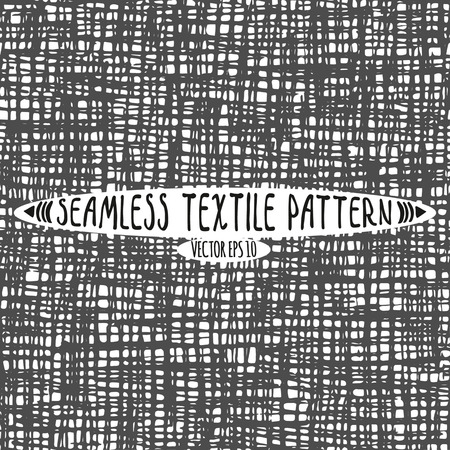 Seamless vector ink drawn textile pattern.A useful model for any design project backgrounds and printed materials. 矢量图像
