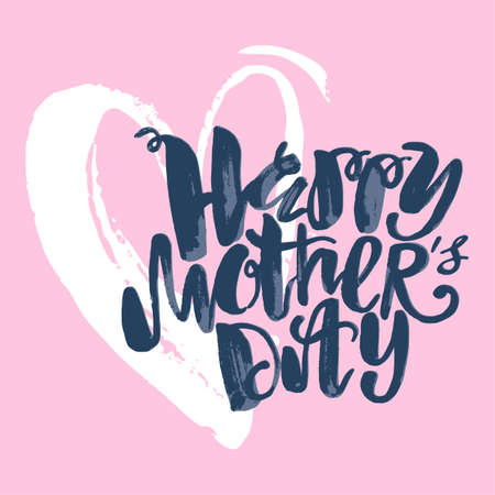 Mothers day concept hand lettering motivation poster artistic mothers day concept hand lettering motivation poster artistic design for a logo greeting cards m4hsunfo
