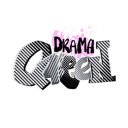 Drama queen banner.