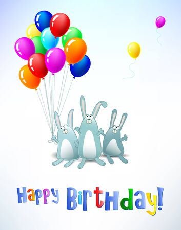 Happy Birthday card  vertical