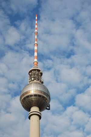 Television tower in Alexanderplatz, Berlin (Ferhsehturm)
