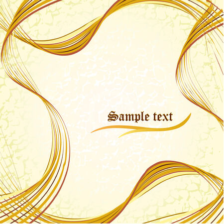 Abstract template with copy space Illustration