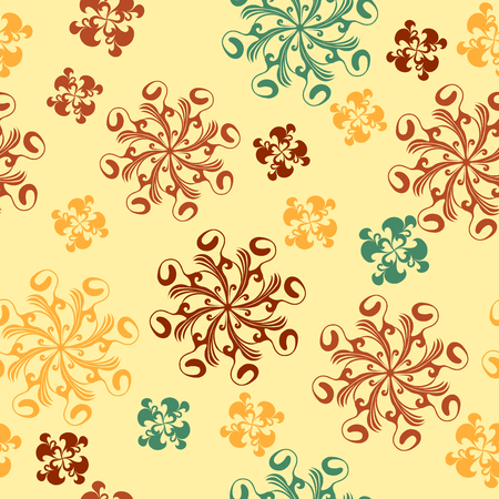 Color seamless pattern. Tile for endless background Stock Vector - 4189750
