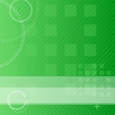 Bright green abstract techno background