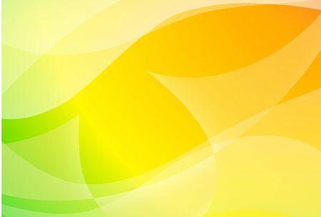 Abstract bright spring background with waves