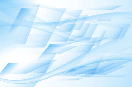 Abstract light blue background with rectangular elements
